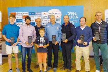 El open de golf pasó por el Club Montealegre de Ourense