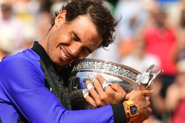 Nadal gana su 10 Roland Garros
