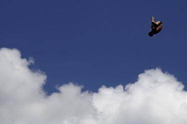Saltos de trampolín en el Mundial de Natación de Budapest, en Hungría