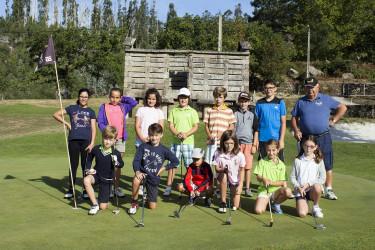 Gran semana de golf Infantil en las instalaciones de Barbanza Golf