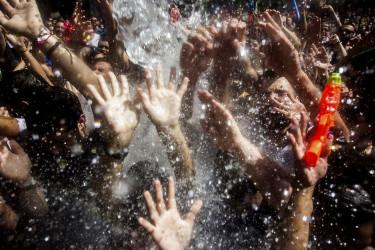 Festa da Auga en Vilagarcía