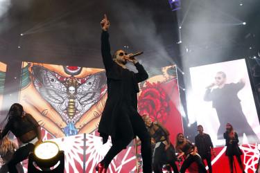 Concierto de Maluma en el Multiúsos de Sar