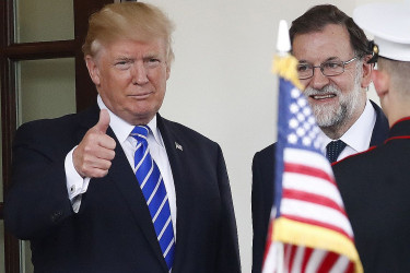 Reunión en Washington entre Trump y Rajoy