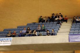Búsquese en la grada del partido Obradoiro, 79 - Gran Canaria, 65