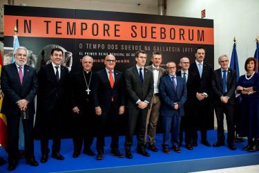Abierta la exposición 'In tempore sueborum', la más importante de Europa sobre el reino suevo