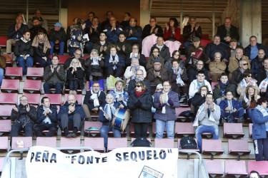 Las imágenes del partido SD Compostela 3 - Villalbés -0