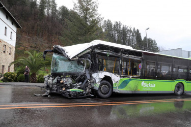 Accidente en Vizcaya, en la localidad de Galdakao