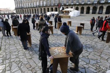 Animación en el el casco histórico con la Feria Napoleónica
