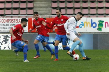 Las imágenes del partido SD Compostela, 0 - Bergantiños, 1