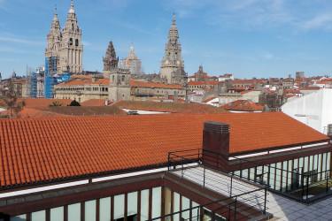 Terrazas de altura en Compostela