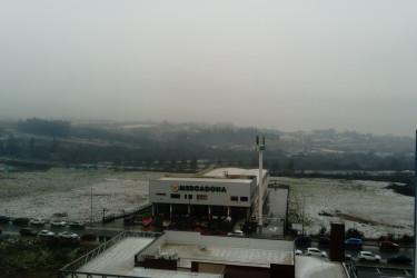 Nieve en Compostela