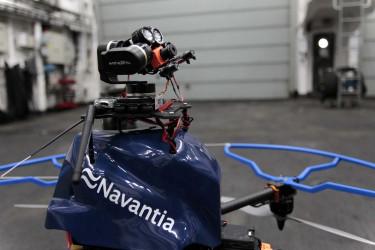 Los drones ya vuelan dentro de Navantia