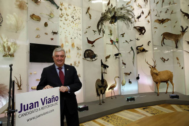 Juan Viaño presenta a súa candidatura ao Reitorado da USC