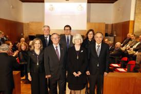 María Teresa Miras Portugal ingresa en la Academia de Farmacia