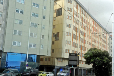 El temporal Hugo en la ciudad de A Coruña