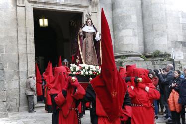 Procesión de la Esperanza en Santiago