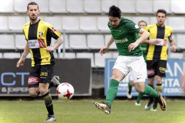 Las imágenes del partido entre Racing de Ferrol, 1 - Rápido de Bouzas, 0