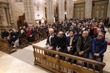 Lavatorio de pies en la Catedral a cargo del Arzobispo