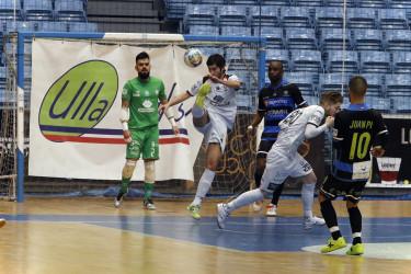 Las imágenes del partido Santiago Futsal, 8 - Cartagena, 1