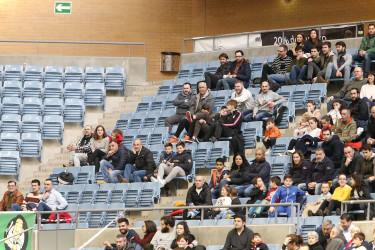 Búsquese en la grada en el partido Santiago Futsal, 8 - Cartagena, 1
