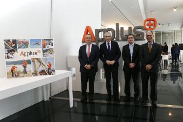 Reunión de APPLUS con el Conselleiro de Economía  Francisco Conde López