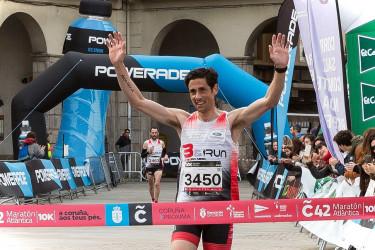 La maraton Atlantica celebrada en A Coruña
