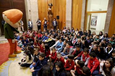 Xornada de portas abertas no Parlamento de Galicia