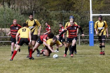 Partido de rugby en Marrozos