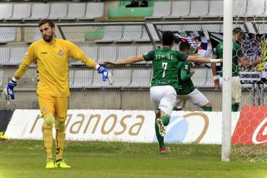 Imágenes del partido entre el Racing de Ferrol, 2 - Valladolid B, 2