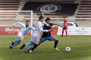 Imágenes del parido SD Compostela, 2 - Villalonga, 0