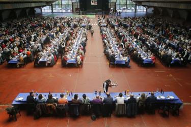 XXI Festa para os maiores en el Recinto Ferial de Amio