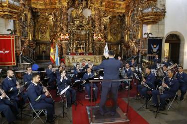 Concierto de la banda de música del Ejército del Aire