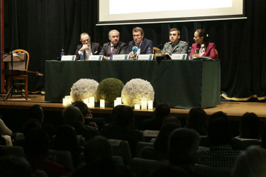 """Presentacion do libro """"Testimonio de vida, ejemplo y dignidad. Germán Macía"""""""