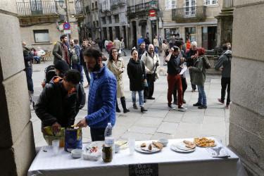 Celebración del Día del turista en la Plaza de Cervantes