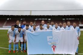 Las imágenes del partido entre el Compostela, 1 - Choco, 2