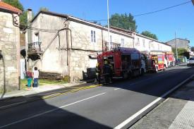 Incendio en Portomouro
