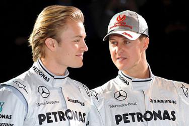Presentación de la escudería Mercedes Gran Pix