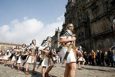 Peregrinación de una legión romana