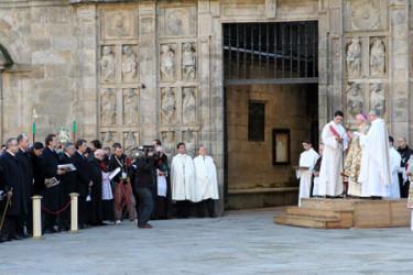 Finaliza el Año Xacobeo 2010 con el cierre de la Puerta Santa