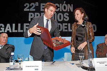 Gala de entrega de los Premios Gallego del Año 2011