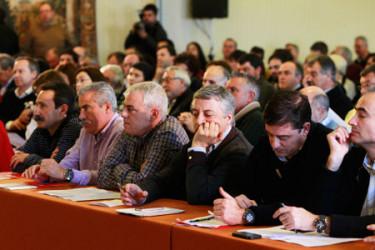 Comité Nacional del PSdeG en Santiago