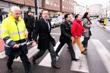 Visita de Agustín Hernández a Ferrol