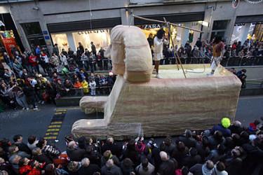 Desfile de carnaval en Santiago (II)