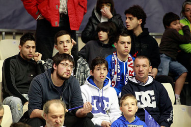 Obradoiro - Real Madrid, búsquese en la grada