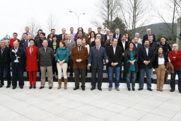 Reunión do PSdeG en Santiago