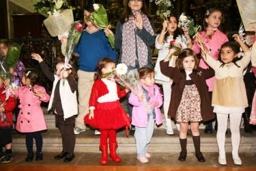 Festival escolar en el colegio San Paio