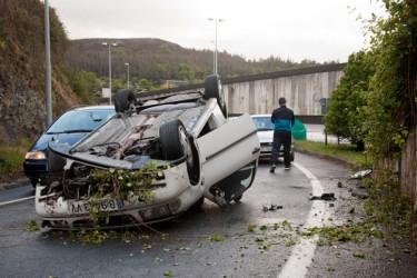 Accidente en Fontiñas