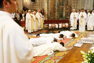 Ordenación sacerdotal en la Catedral