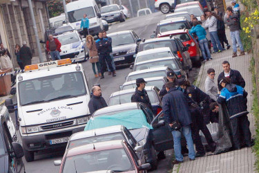 Asesinato de una mujer en Ferrol