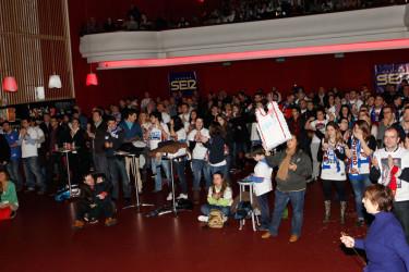 Partido Joventut - Blusens Monbus en la Sala capitol
